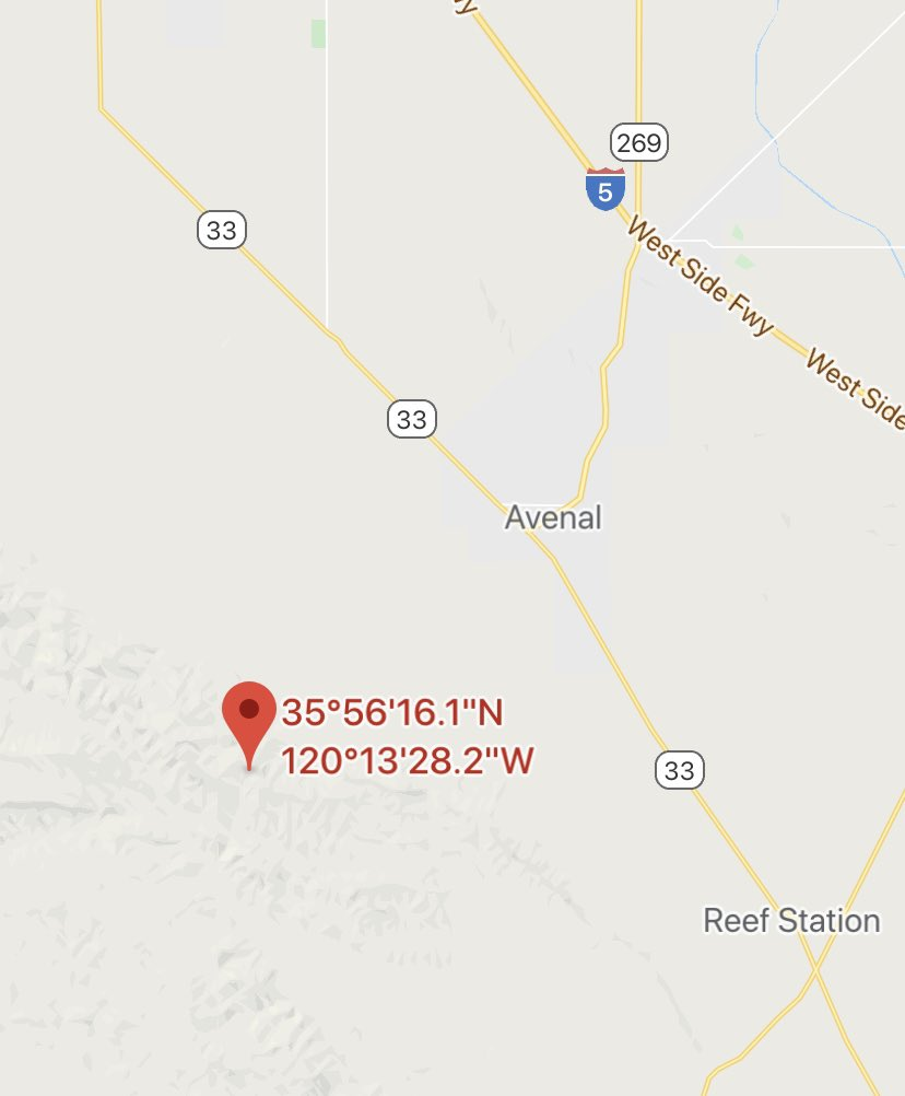 #TarFire Firefighters on scene of a wildland fire on Tar Canyon & HWY 33. Crews are reporting fast-moving fire approx 5 acres.