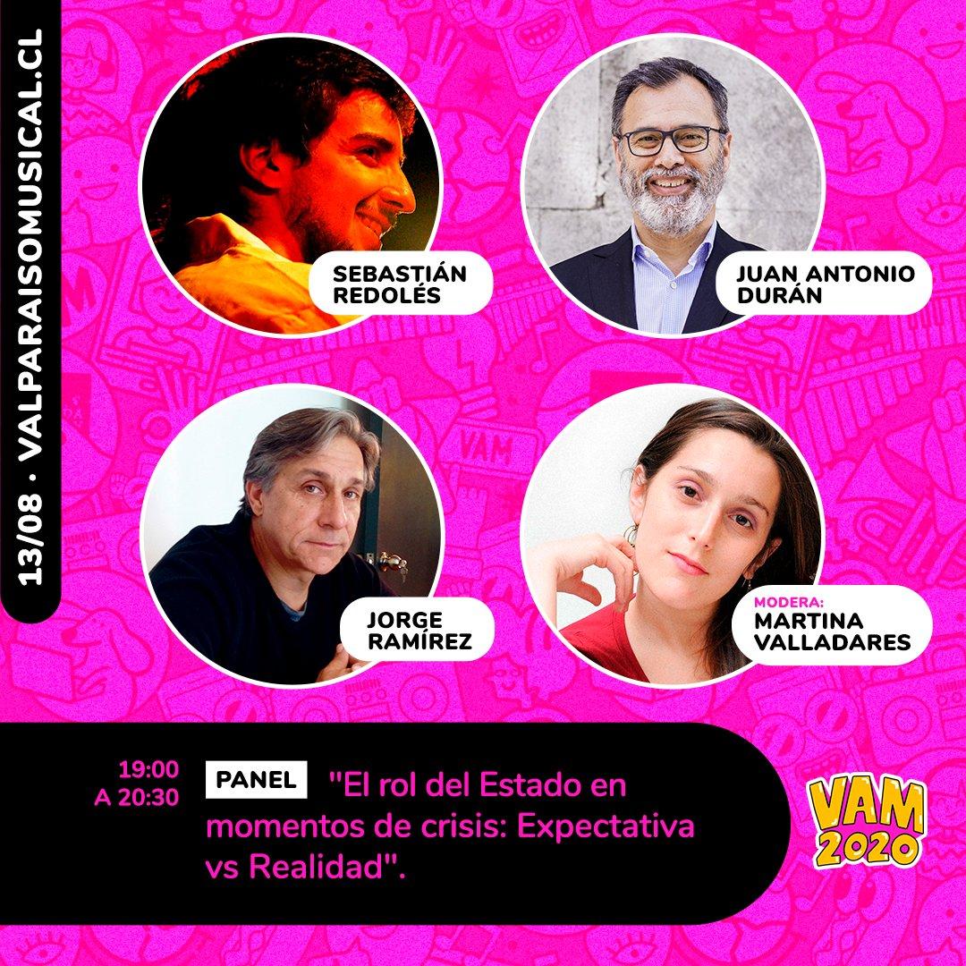 test Twitter Media - 📣 Hoy seremos parte de #VAM2020, el 1° encuentro en línea de la industria musical chilena a través de la participación de nuestro Director General, Juan Antonio Durán ✅ 💻📲 Conéctate a partir de las 19:00 ingresando a https://t.co/5OI7PrGFwW https://t.co/GUowf9O3Kz
