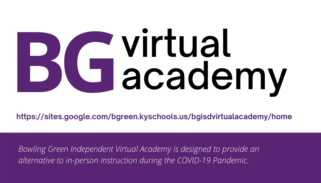 Today is Back-to-School Form Pickup for Virtual Academy students.  All families should stop by BGHS before 2pm or between 4:30-6:00 p.m.  Forms in the packets must be returned on August 20th to receive log in credentials and Chromebooks (if available).
