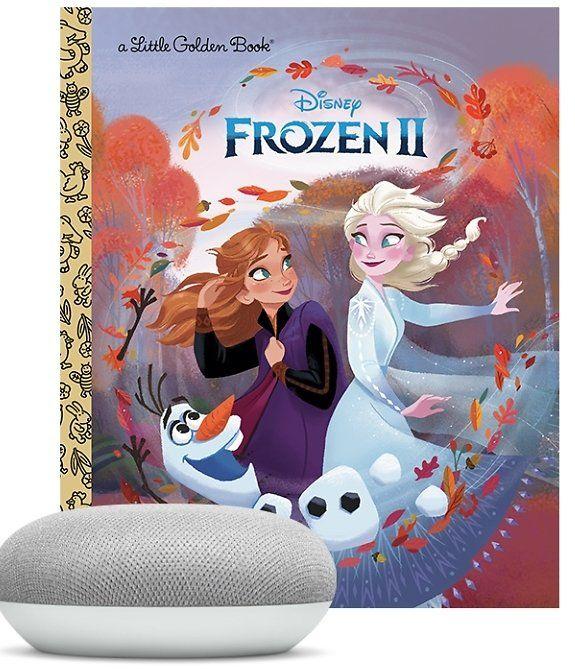 Google Home Mini + Disney Frozen II Bundle  Just $19.99!   (Reg $49)
