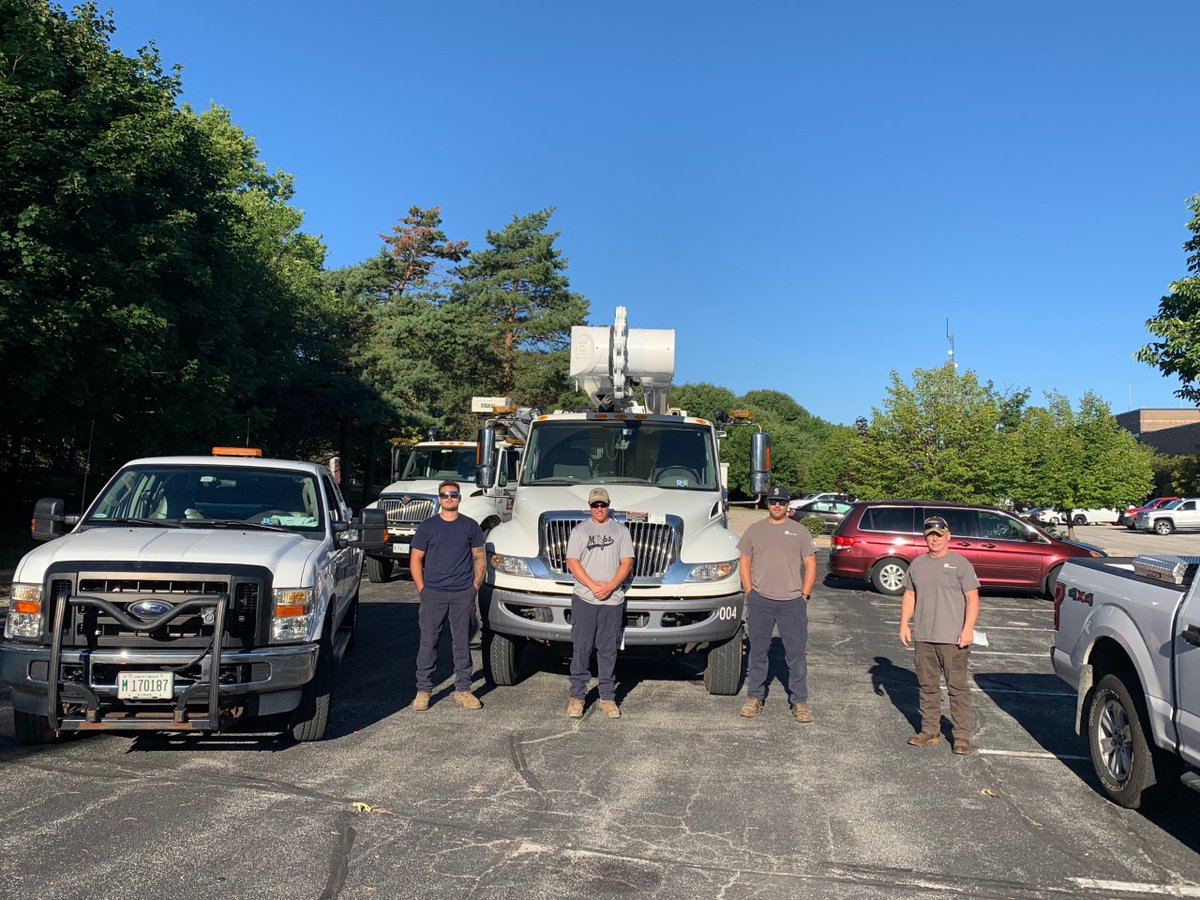 3 Naperville Electric Utility apprentices and a supervisor are traveling to Princeton, Illinois, today to help restore power after Monday's  severe storms swept through the area. The community also receives its power from the Illinois Municipal Electric Agency.