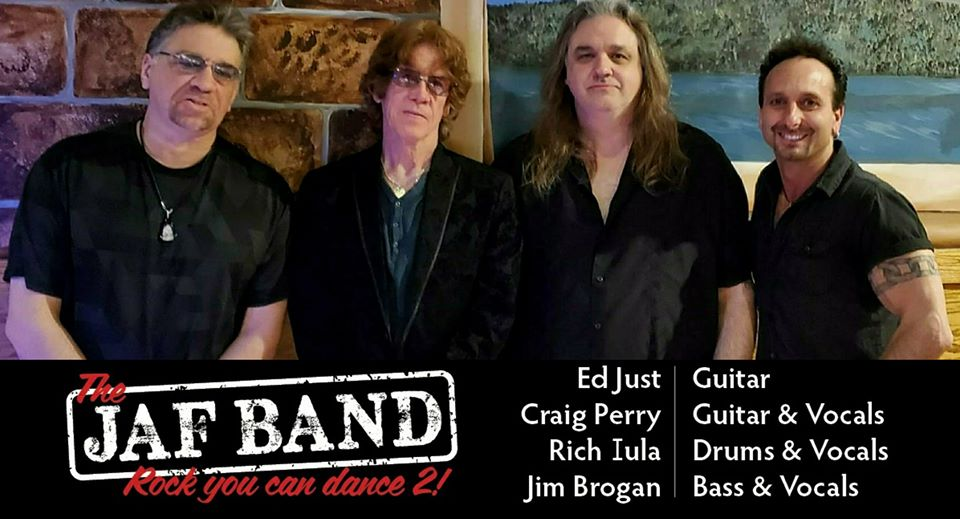 What are your plans for tomorrow? Come and grab a drink at the Bull's Head Inn and rock out to The JAF Band! A great way to unwind after the work week and have a blast!