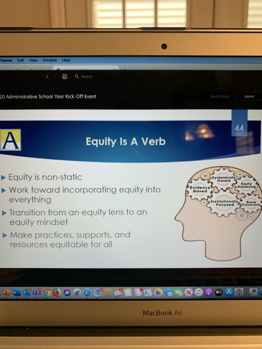 RT @DrLatishaEllis1: #Equity #APSac2020