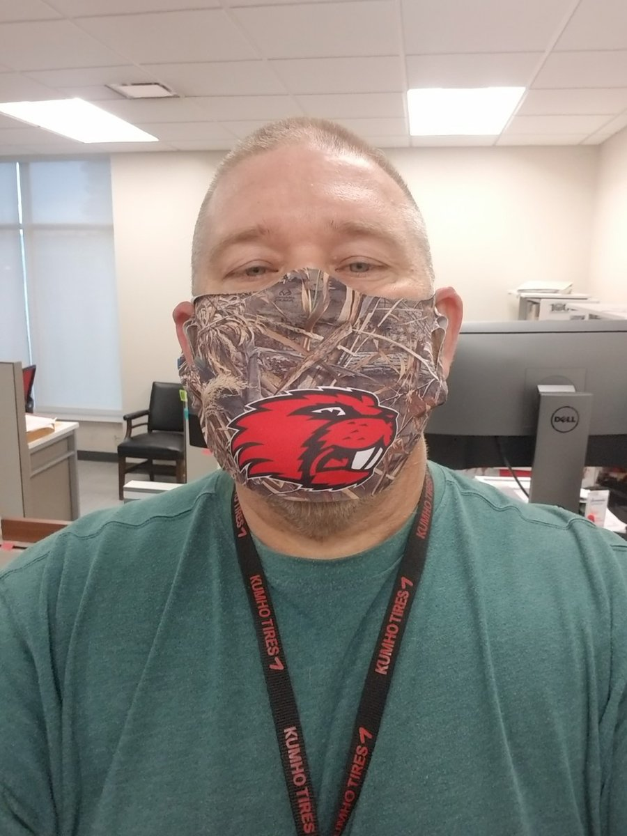 We've got several folks showing some hometown pride with their masks and we LOVE it. Who are you repping? #MaskUpWithUs #ARHwysAreYourHwys #GlenRoseBeavers #MagnoliaPanthers #COVID19Ark #InThisTogether #weARstrong