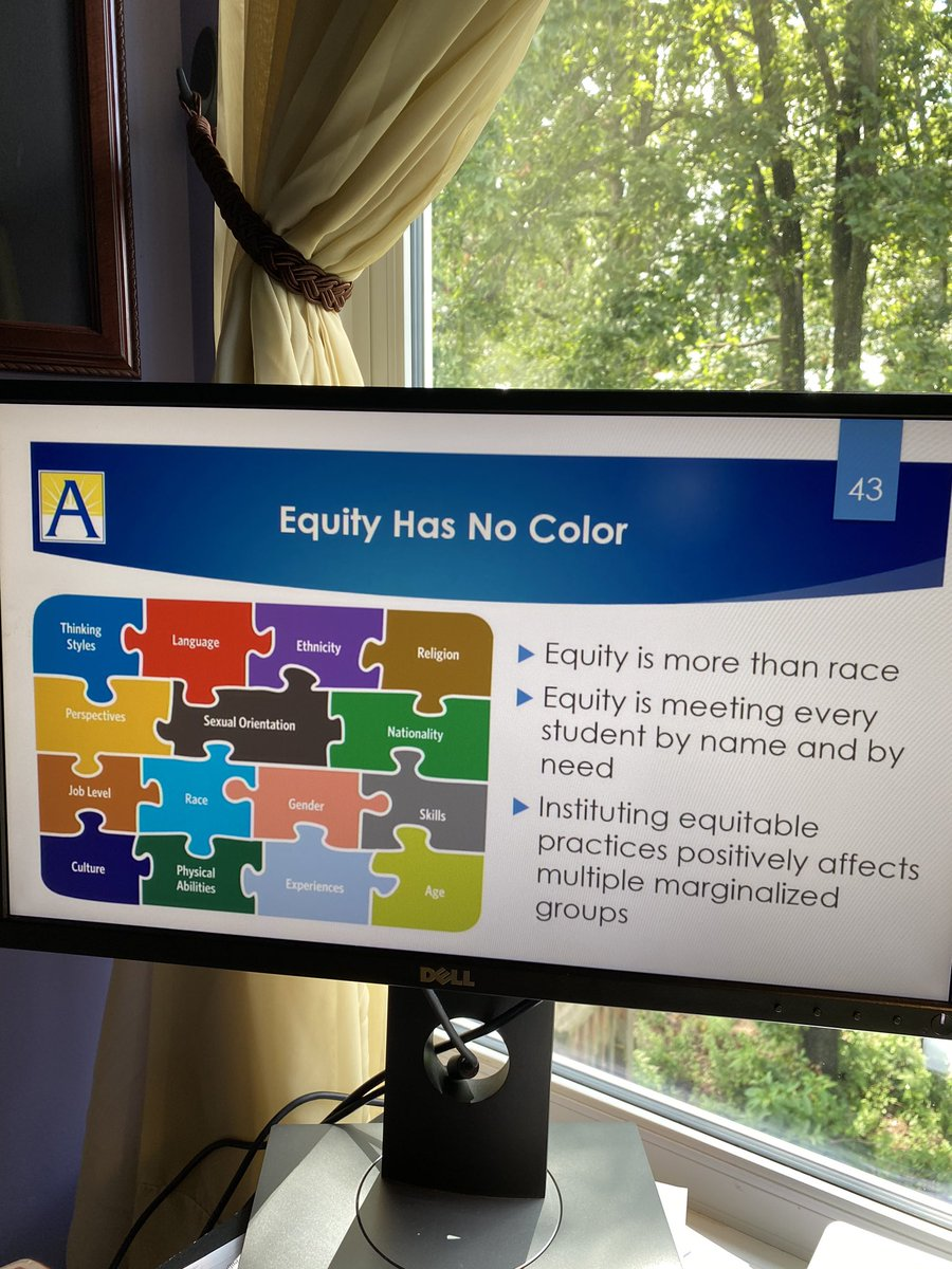 RT @APLisaMoore: #Equity #APSac2020 #APSisAwesome #StrongerTogether