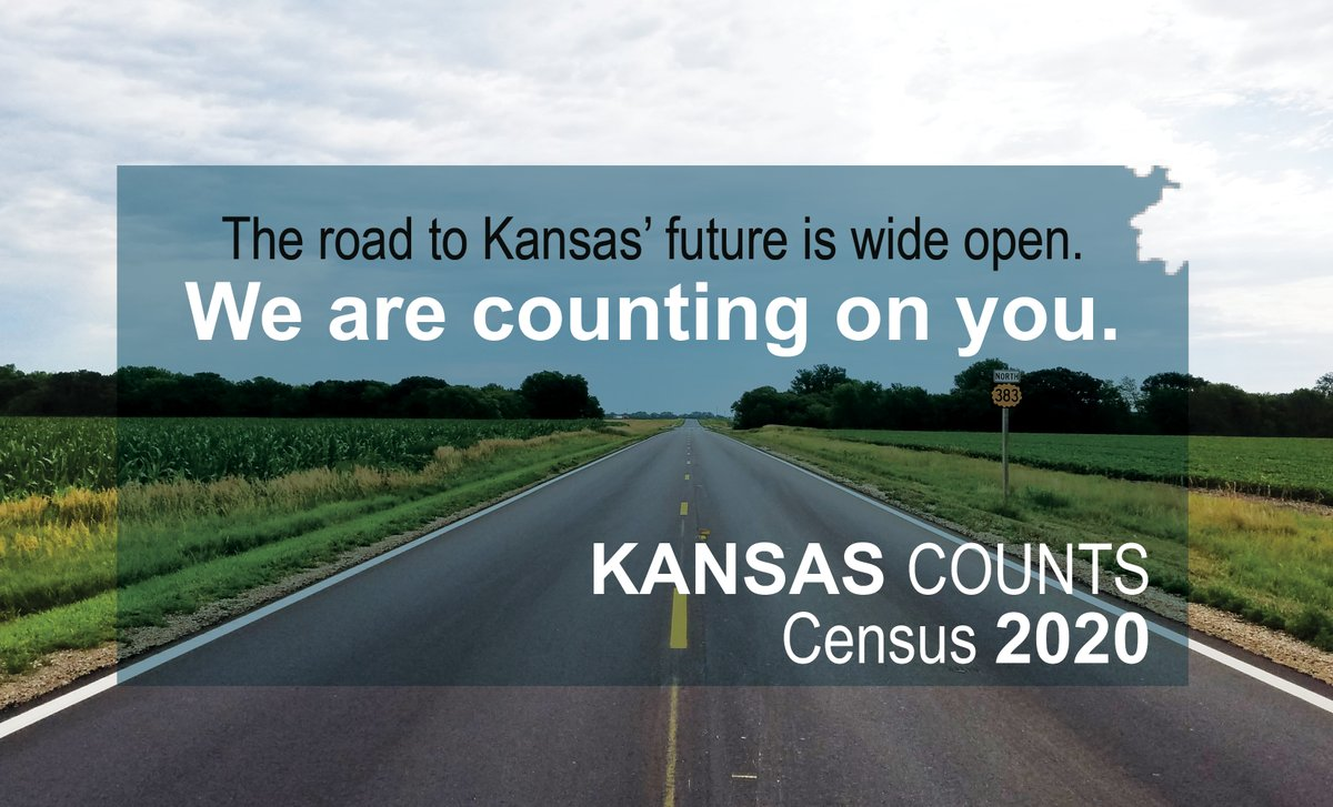 It's not too late to make make yourself count! Kansas relies on census numbers that help direct billions of dollars in federal funds to local communities for schools, roads, infrastructure and other public services.  We are counting on you! #KansasCounts