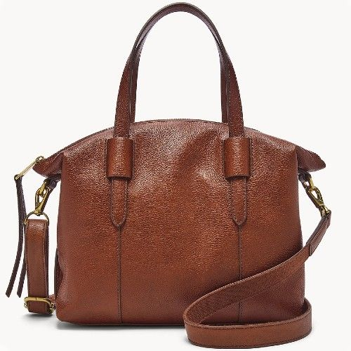Just $48 + Ships Free (Reg $198)  Fossil Satchel in 2 Colors: