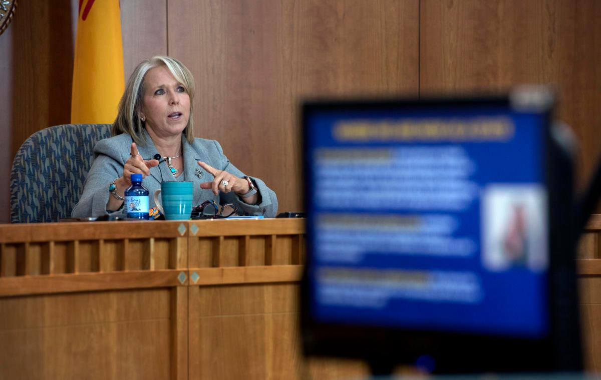 RT @ABQJournal: Governor reports 'good news,' sets target for virus cases