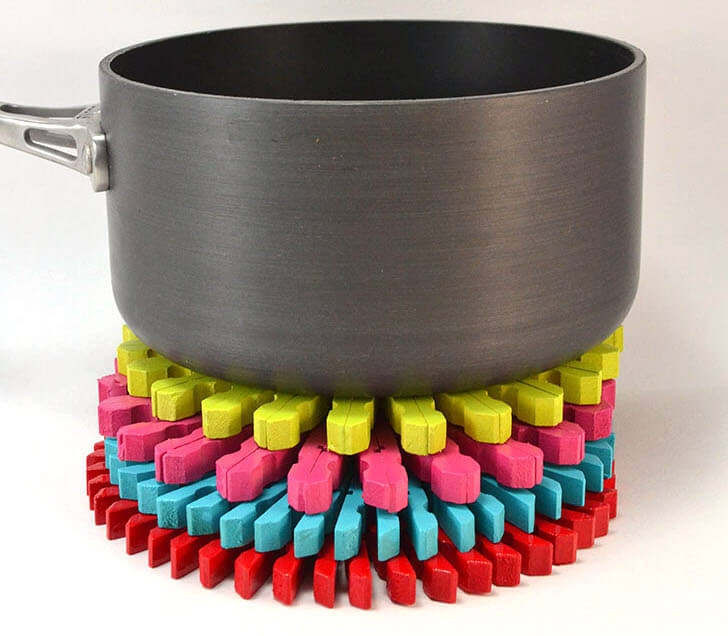 (Virtual) Adult Craft Class   Join us virtually to create a colorful or rustic Clothespin Trivet for your kitchen!   Registration is required for this Zoom event. Get more information and sign up by clicking here: