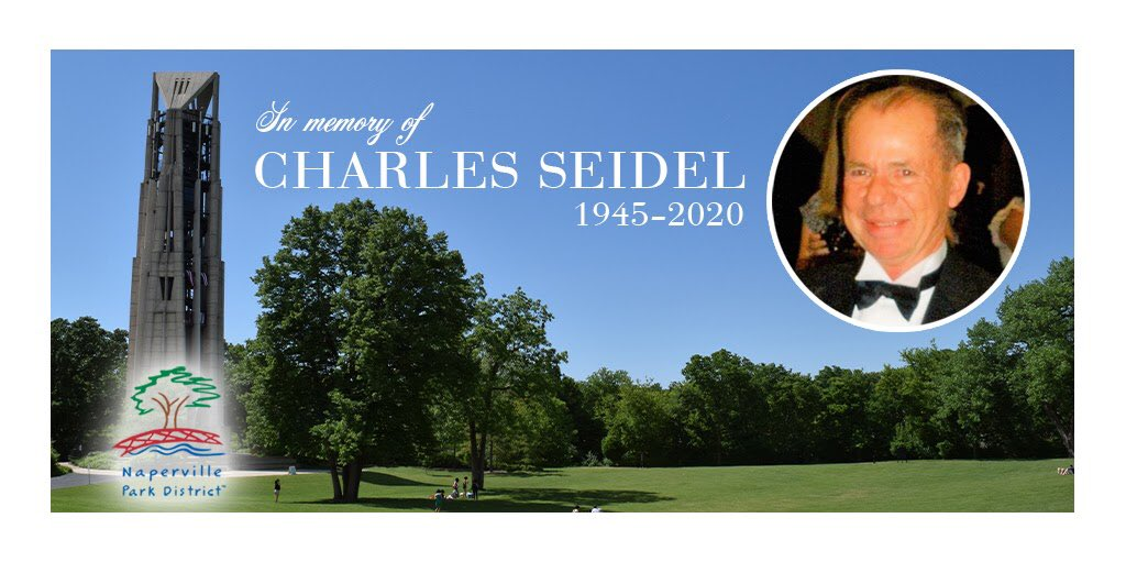 The 2020 Tuesday evening Summer Recital Series at the Naperville Millennium Carillon will conclude with a concert at 7 p.m., Tuesday, Aug. 18 to honor founding member of the Millennium Carillon Foundation Chuck Seidel, who recently passed away.