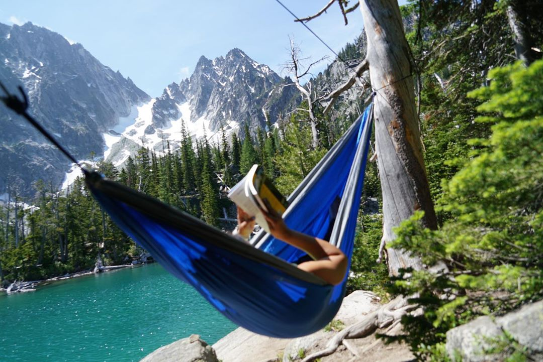 Wow, what an ideal way to spend the day! What book would you bring to spend the day reading in the mountains?  Thanks for the tag! @mrandmrs_wanderlust