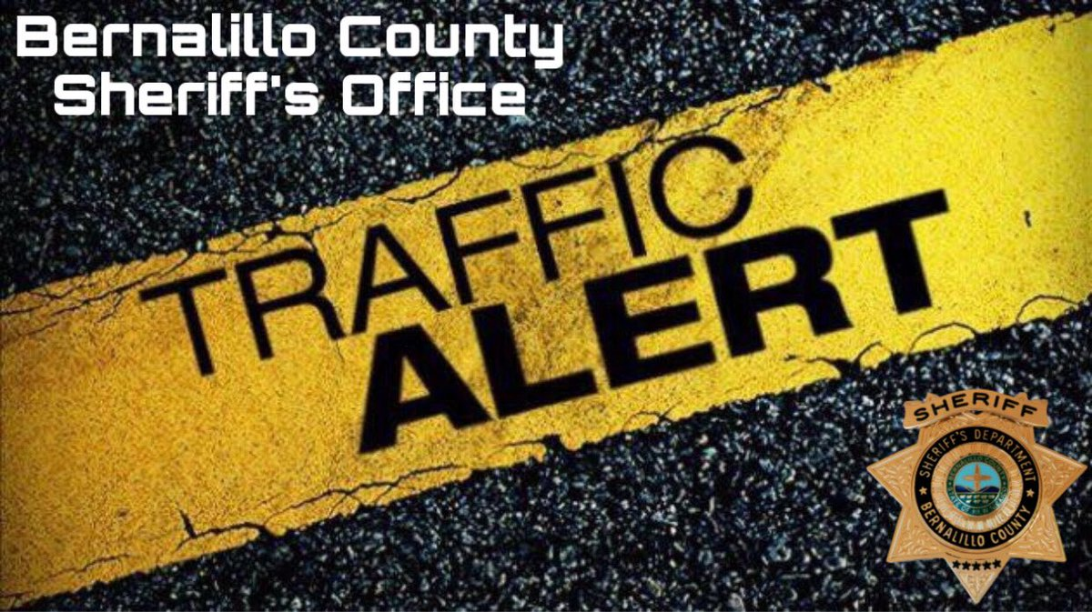 ***TRAFFIC ALERT*** Both directions of Gonzales Rd. between Atrisco Dr. & Sunset Rd. are closed at this time due to a motor vehicle crash.