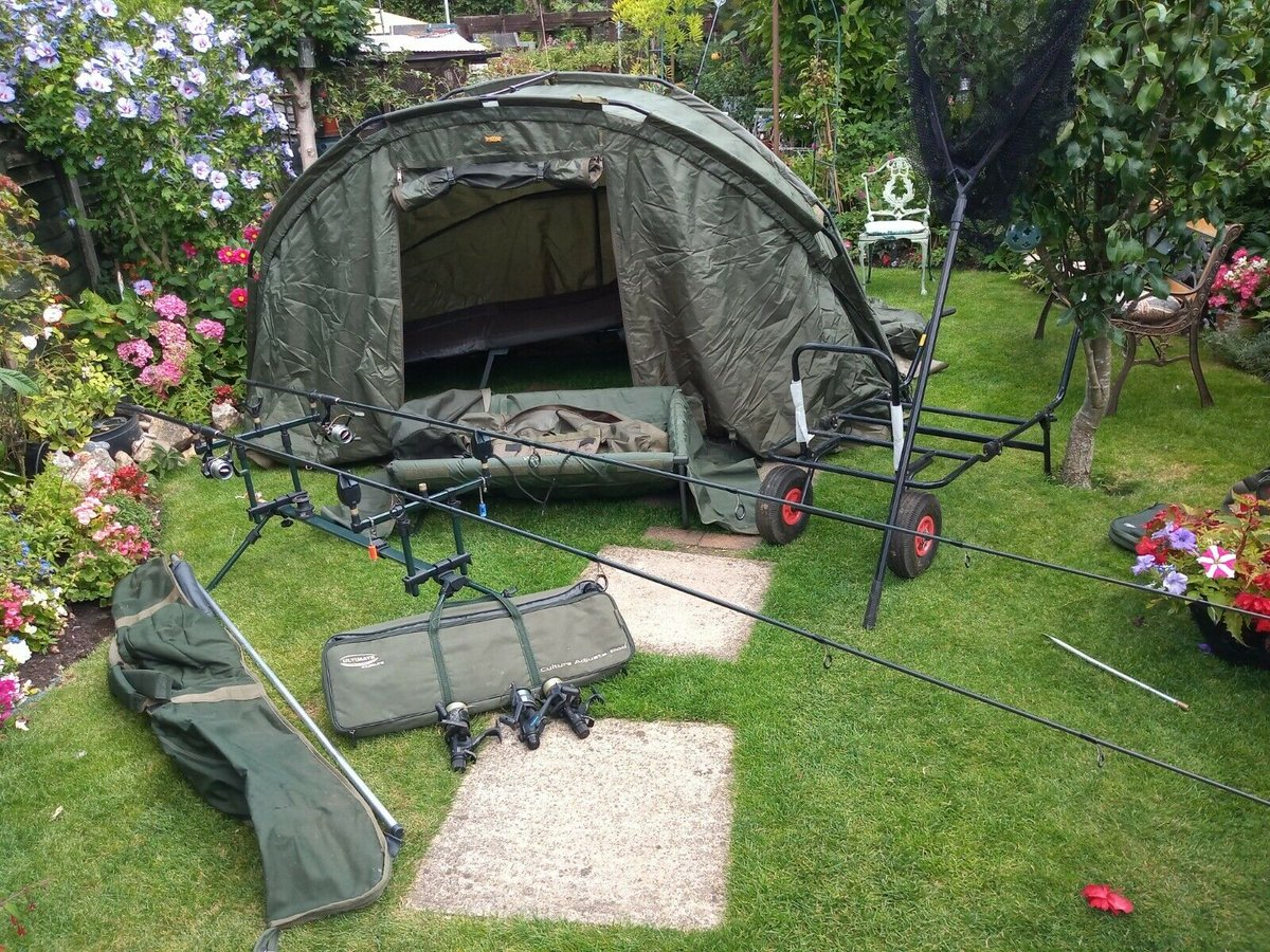 Ad - Full carp <b>Fishing</b> set-up for sale On eBay here -->> https://t.co/dlVuhVMJCB  #carp