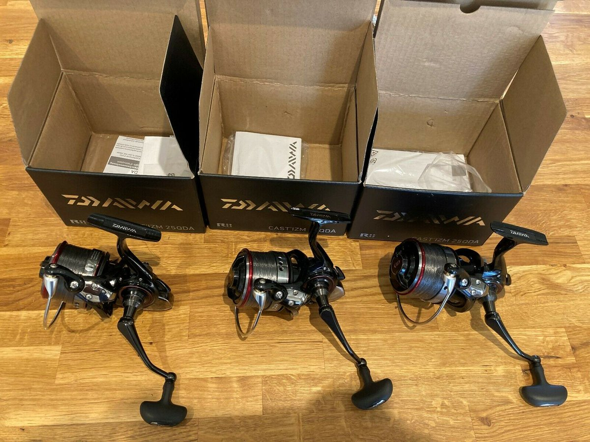 Ad - Daiwa Castizm 25QDA Carp Fishing Reels On eBay here -->> https://t.co/ITxRCMiAGk  #carp<b