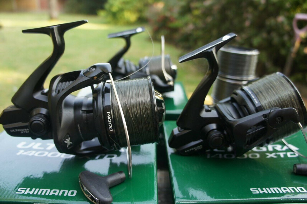 Ad - Shimano Ultegra 14000 XTD reel x3 On eBay here -->> https://t.co/3HG2Twy7ZT  #carp<b>Fish