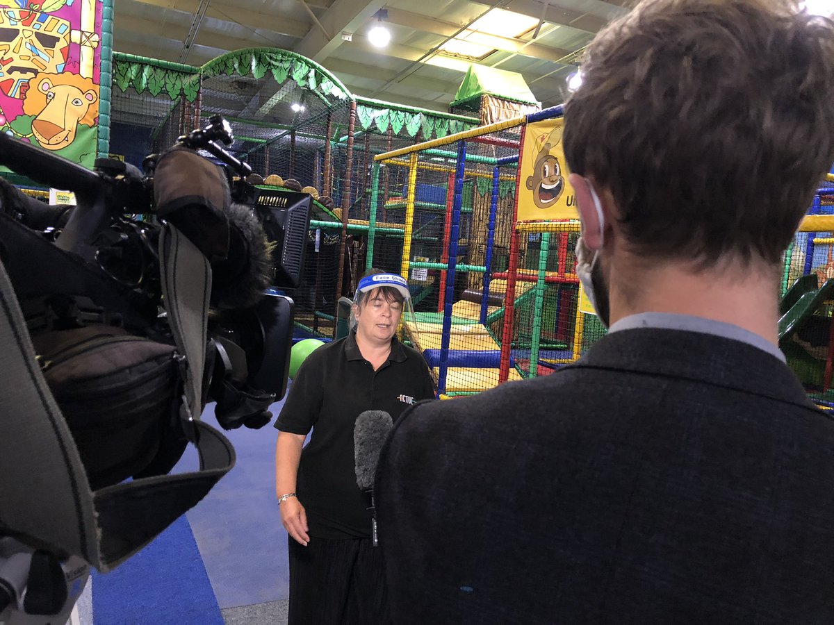 test Twitter Media - Soft play centre in Hull @LittleMonkeysHu has opened today after Covid restrictions were eased. Watch @LisaAdlamitv report on @itvcalendar tonight https://t.co/SuGWZ3NplJ