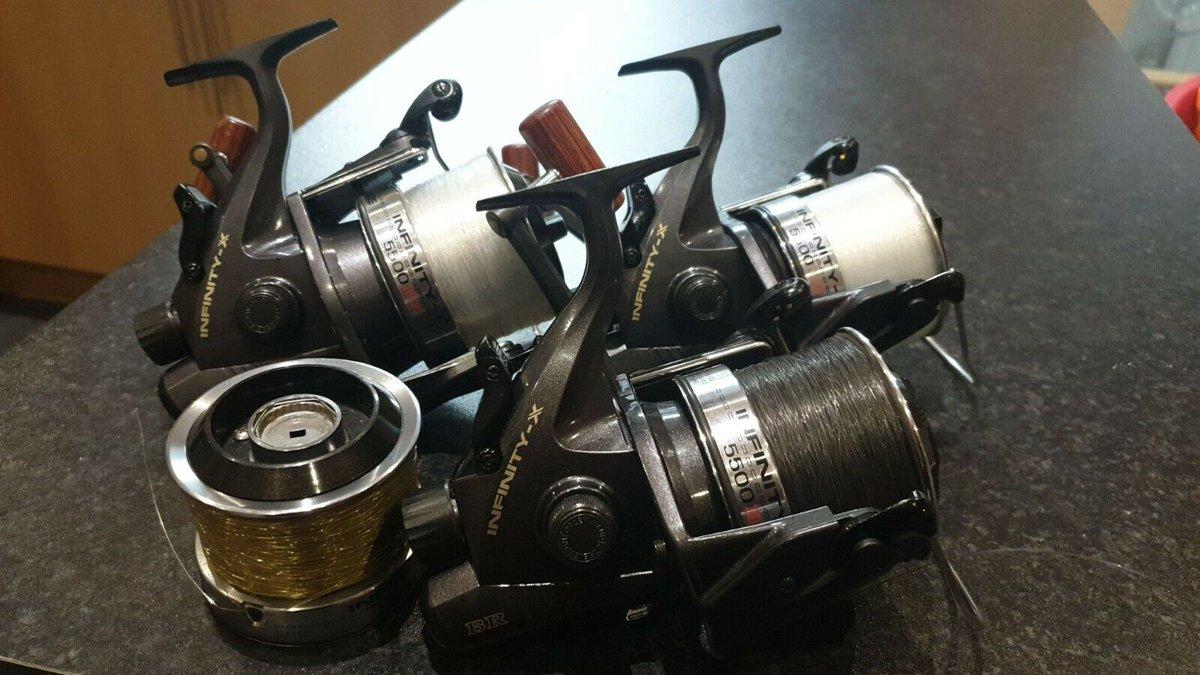 Ad - 3x Daiwa Infinity-x BR5500 Big Pit Fishing Reels On eBay here -->> https://t.co/QVsBx9rTr