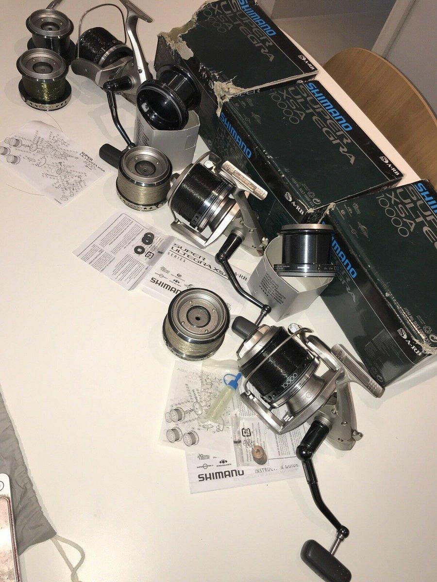 Ad - 3 X Shimano Super Ultegra 10000 Carp Fishing Reels On eBay here -->> https://t.co/onpLJGT