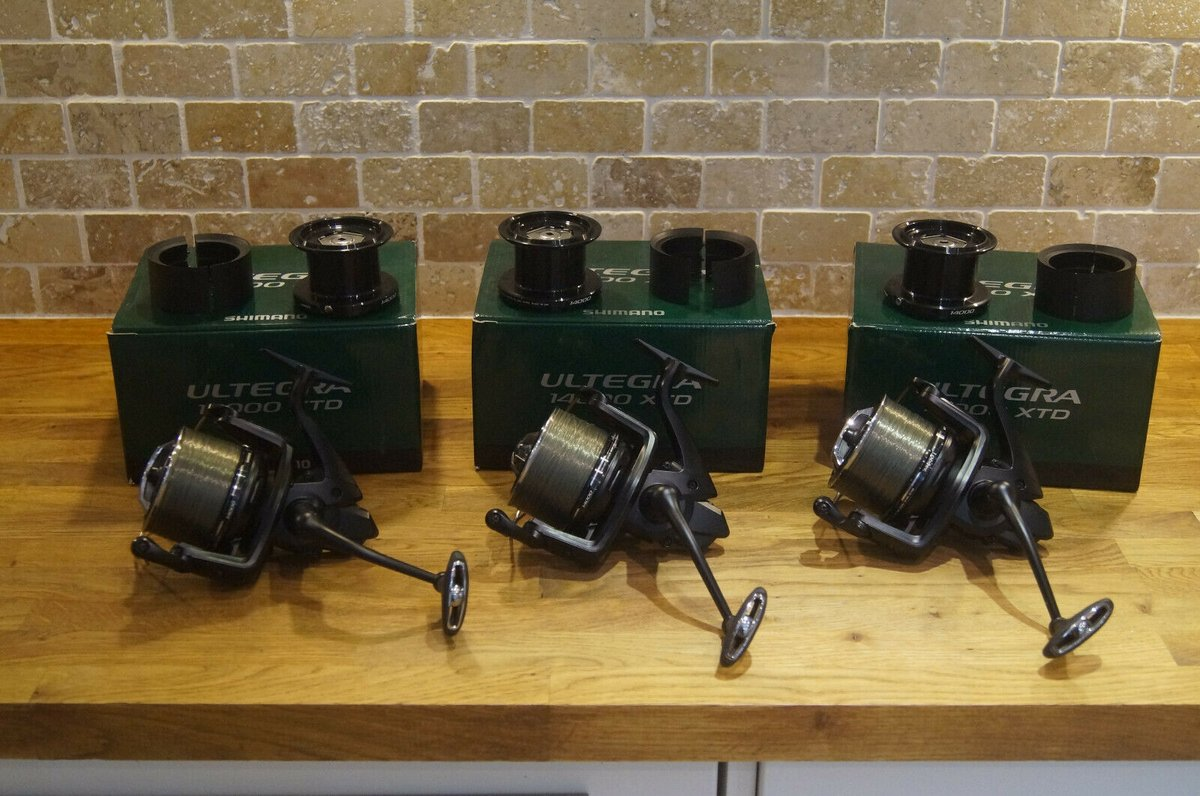 Ad - 3 SHIMANO ULTEGRA 14000 XTD BIG PIT REELS On eBay here -->> https://t.co/0W75qcMK47  #car