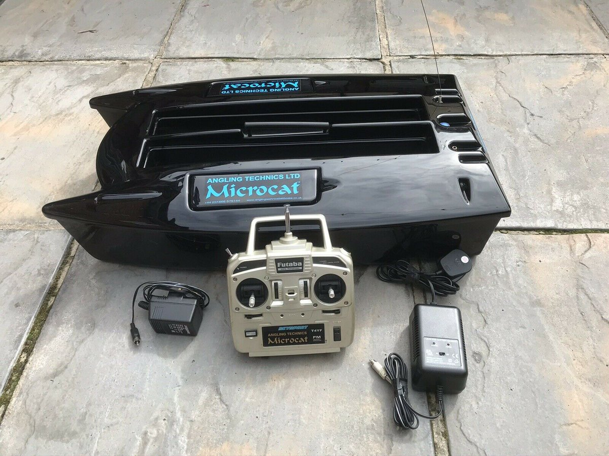 Ad - Angling Technics Microcat Bait Boat On eBay here -->> https://t.co/udObmO3vXP  #carpfishi