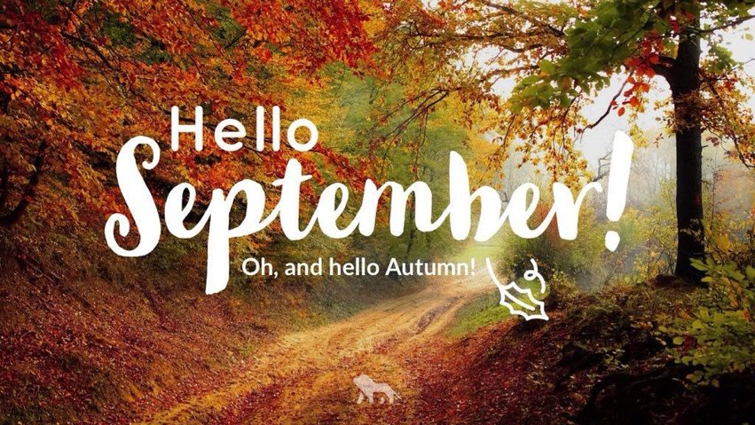 Hello September and Autumn! You're going to be oh-so awesome! ????????????   #pinchpunch #autumnishere #tuesdayvibes