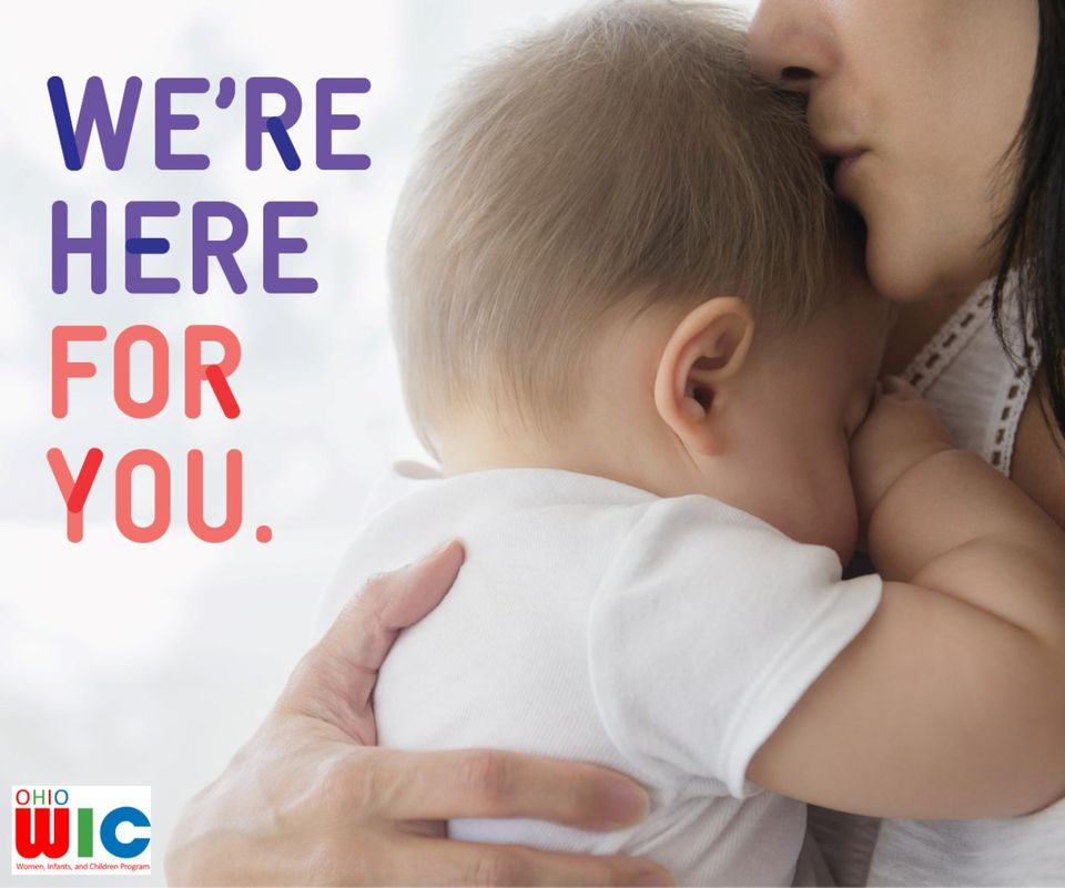 Struggling to provide healthy food for your child during the COVID-19 crisis? WIC is here to help.  Most of your WIC appointment can be completed over the phone. Call our WIC Office at 419-224-8200.