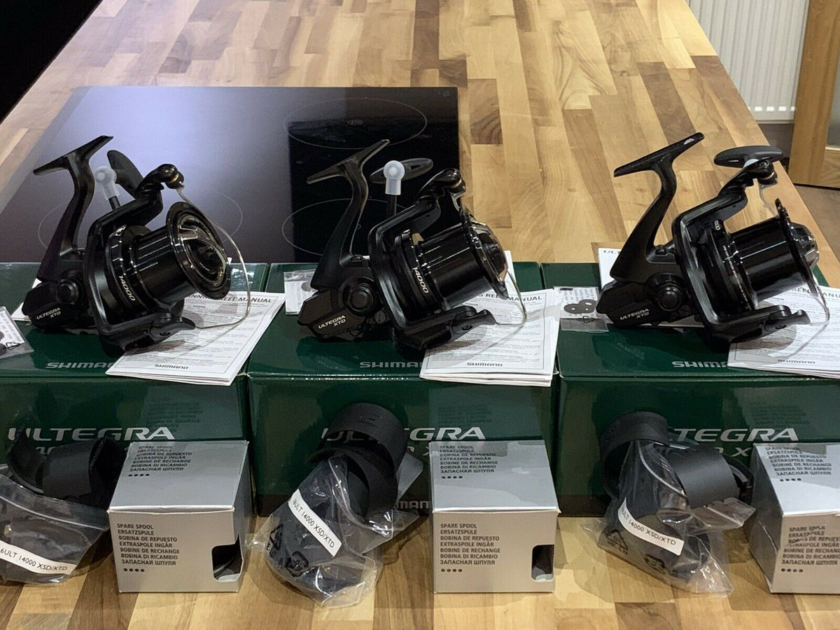 Ad - 3x Shimano Ultegra 14000 XTD reels On eBay here -->> https://t.co/WI6uz4QeJP  #carpfishin
