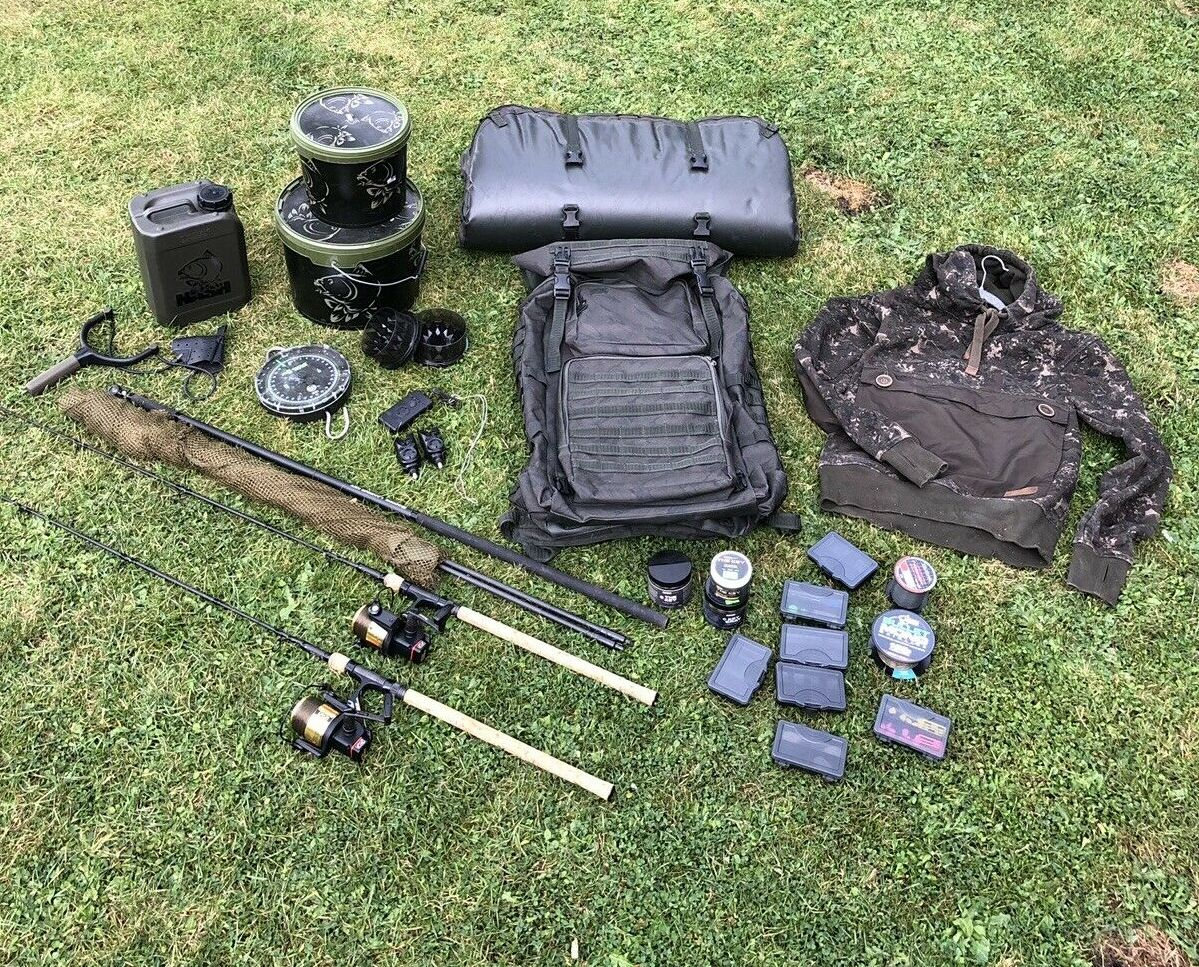 Ad - Nash Scope Sawn Off Set Up  On eBay here -->> https://t.co/xm4mZVWBmf  #carpfishing https