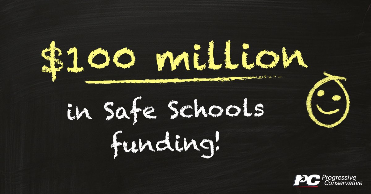 test Twitter Media - Our PC government is providing $100 million in Safe Schools funding to help ensure a safe and healthy environment for our students and staff.   Learn more: https://t.co/ODE9YYzccH   #mbpoli https://t.co/yxE5L1uKba