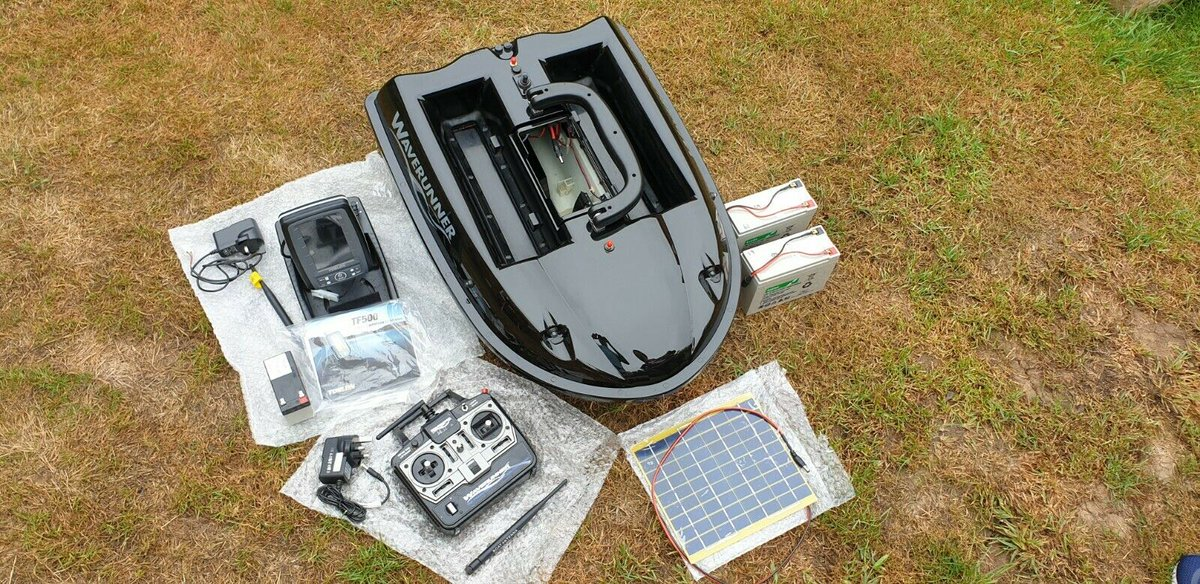 Ad - Waverunner MK4 Baitboat & Fishfinder On eBay here -->> https://t.co/KhM7f8U3ds  #carp