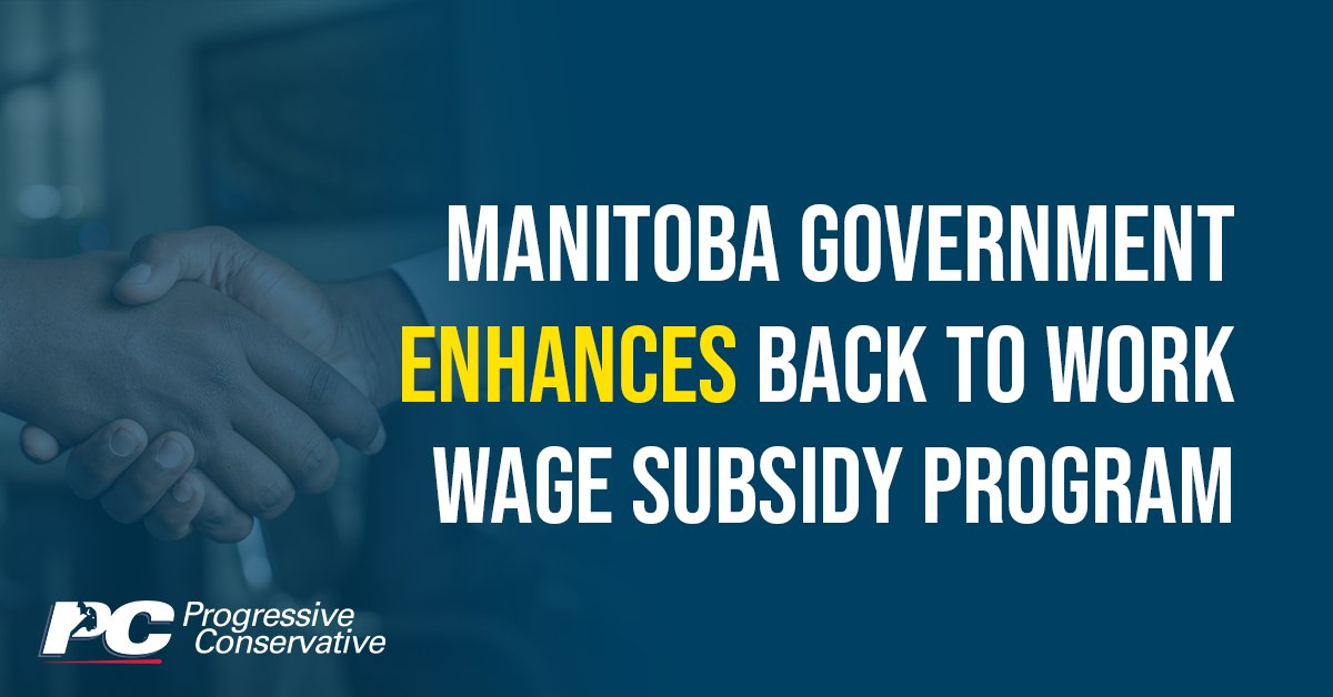 test Twitter Media - Our PC government is enhancing its Back to Work program to support more Manitoba businesses in bringing back their employees.   Get the details here: https://t.co/omsqqz25oA   #mbpoli #MovingManitobaForward https://t.co/kpIgNPcJUX