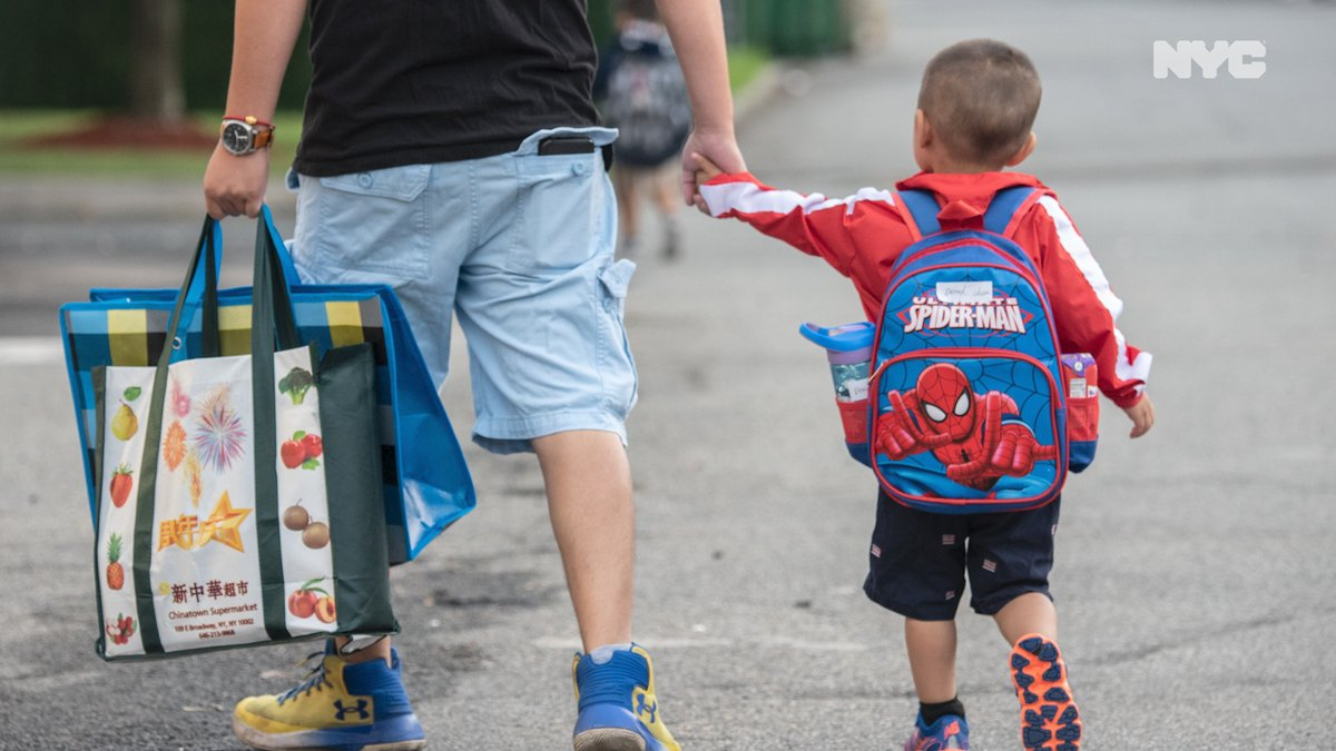 On Monday 3-K, Pre-K and District 75 #ReturnToSchool2020. Here's what your kids can expect.