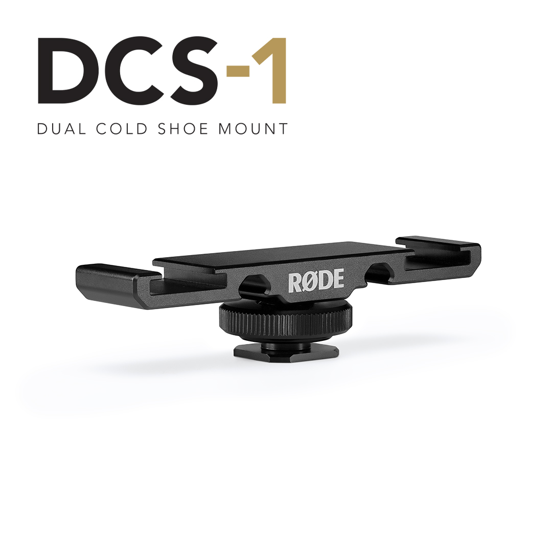 RT @rodemics: ICYMI: We've just launched two new accessories for the #RØDE Wireless GO and VideoMic range, the DCS-1 Dual Cold Shoe Mount a…