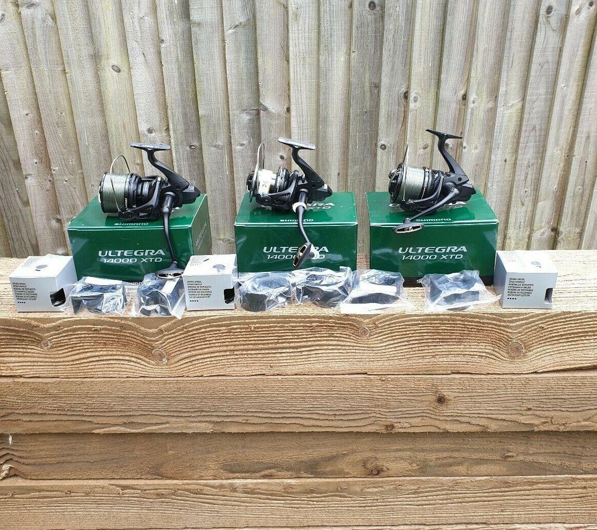 Ad - 3x Shimano Ultegra 14000 XTD big pit reels On eBay here -->> https://t.co/bJXJiqzjUd  #ca