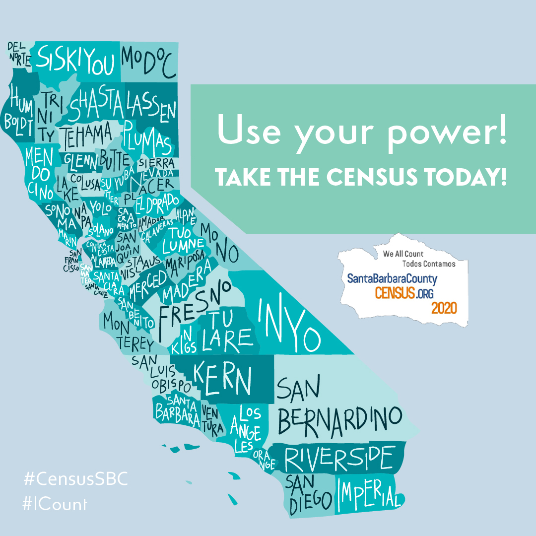 If we're not counted, we're not seen. When we aren't seen, we aren't heard. Let's fight for our families and communities by filling out the #2020Census! This ensures we have proper representation in our governments. Visit  #ICount #CensusSBC