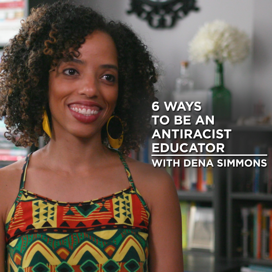 Dena Simmons shares *6 ways* to be antiracist in the classroom. 🙌🏾 https://t.co/vcTKfB8qeT