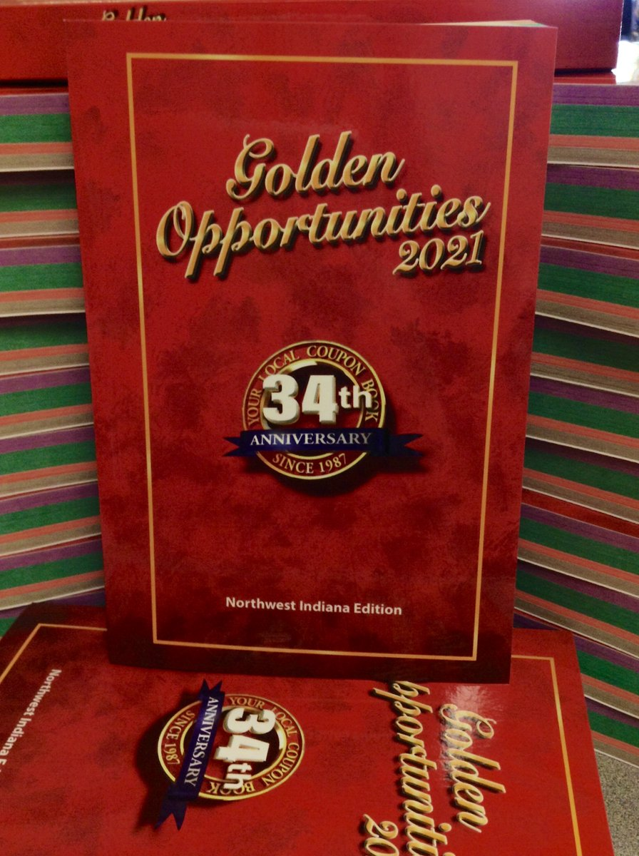 Good news: the #GoldenOpportunities coupon book sale is back on! Books are $25. To purchase, call Golden Opportunities at 800-884-6533 and mention you're purchasing through LCPL. You can then pick up your book at the library!