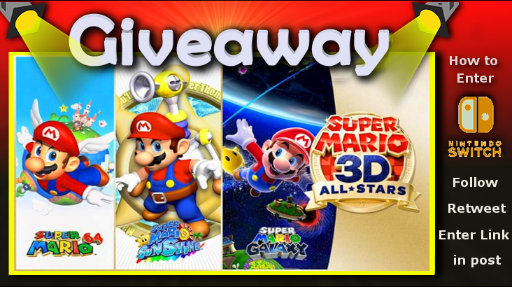 I will be giving away a copy of Super Mario 3D All-Stars - Nintendo Switch, Nintendo Switch Lite [Digital]! #Nintendo #NintendoSwitch #NintendoDirect #freecodefridaycontest #Twitch #twitchtv #twitchstreamer #giveaway #Mario35 #Mario #mario35th  Enter Here: