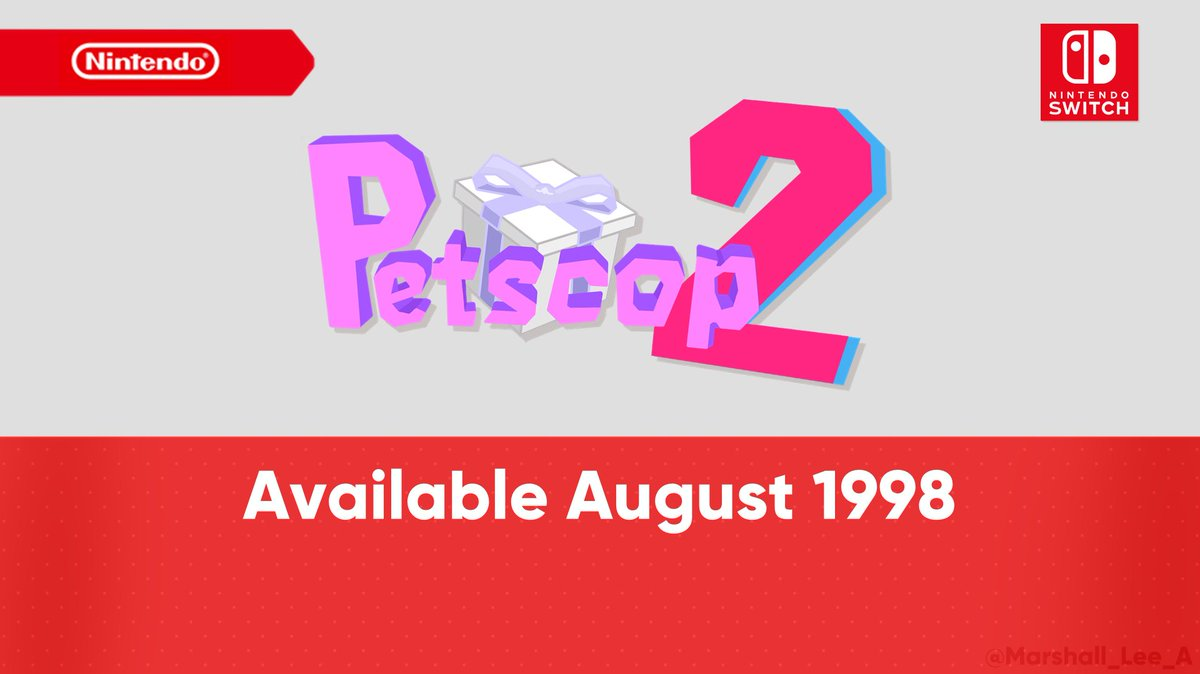 A classic returns with a brand new entry to the series...  #Petscop #Petscop2 #NintendoSwitch