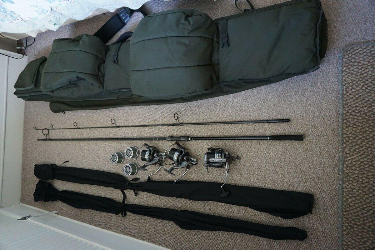 Ad - 3 Johnson Ross XR36 Carp Rods & 3 Daiwa Windcast Reels On eBay here -->> https://t.co