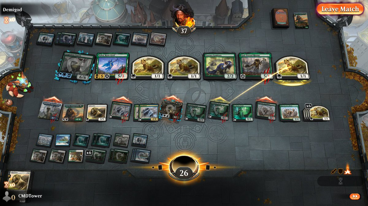 test Twitter Media - ...this deck keeps drawing it's entire library and I can't always swing through. I'll have to work this one out.  #MTGArena https://t.co/NGaUxaFo4e