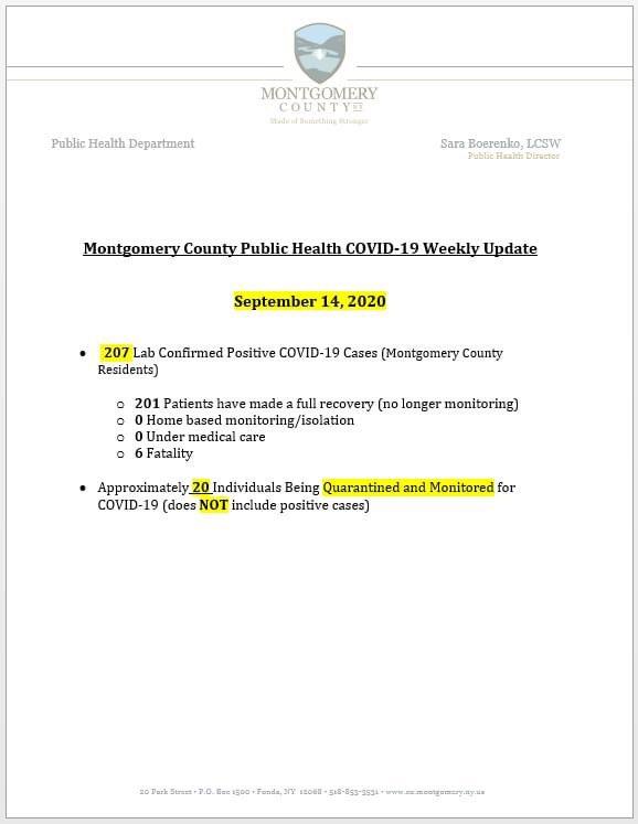 RT @CoExecOssenfort: Public Health's #COVID19 update Sept. 14.  #montgomerycounty #localgov