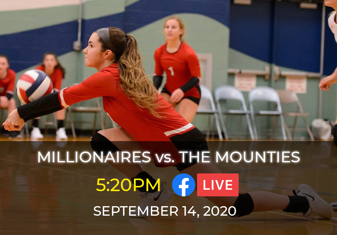 GOING LIVE | You can catch today's volleyball match against the South Williamsport Mounties at the link below starting at 5:20! 🏐  🔗   Good luck, #Millionaires!