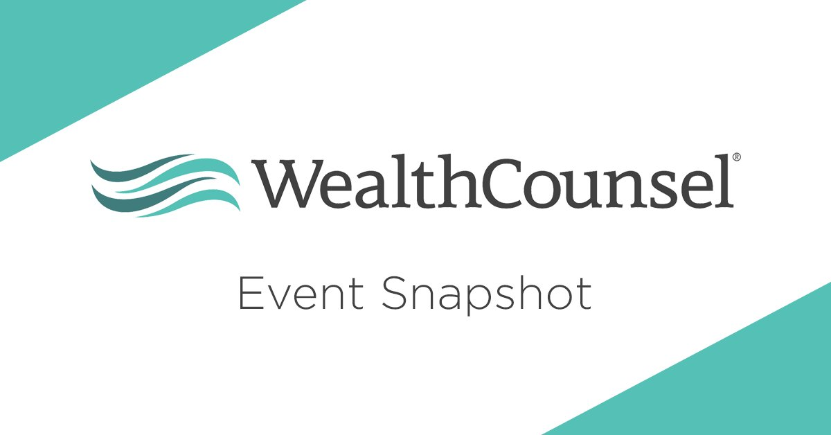 test Twitter Media - Happy Monday! Click for details: 9/16 - Migrating to #WealthCounsel's Online Drafting https://t.co/fACfFOWnZY 9/16 - Family Business Succession Planning https://t.co/twCT8wKjtJ 9/17 - Gift Tax Returns https://t.co/W8PwH7ljCt 9/17 - Women in #EstatePlanning https://t.co/YXkIw9YAyo https://t.co/trZSvhmjky