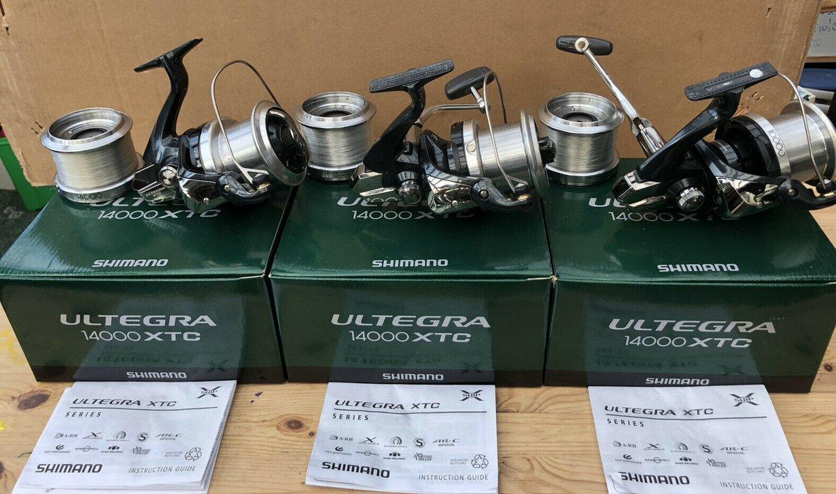 Ad - Shimano Ultegra 14000 XTC Carp Fishing Reels x3 On eBay here -->> https://t.co/UTJwv5Dsfd