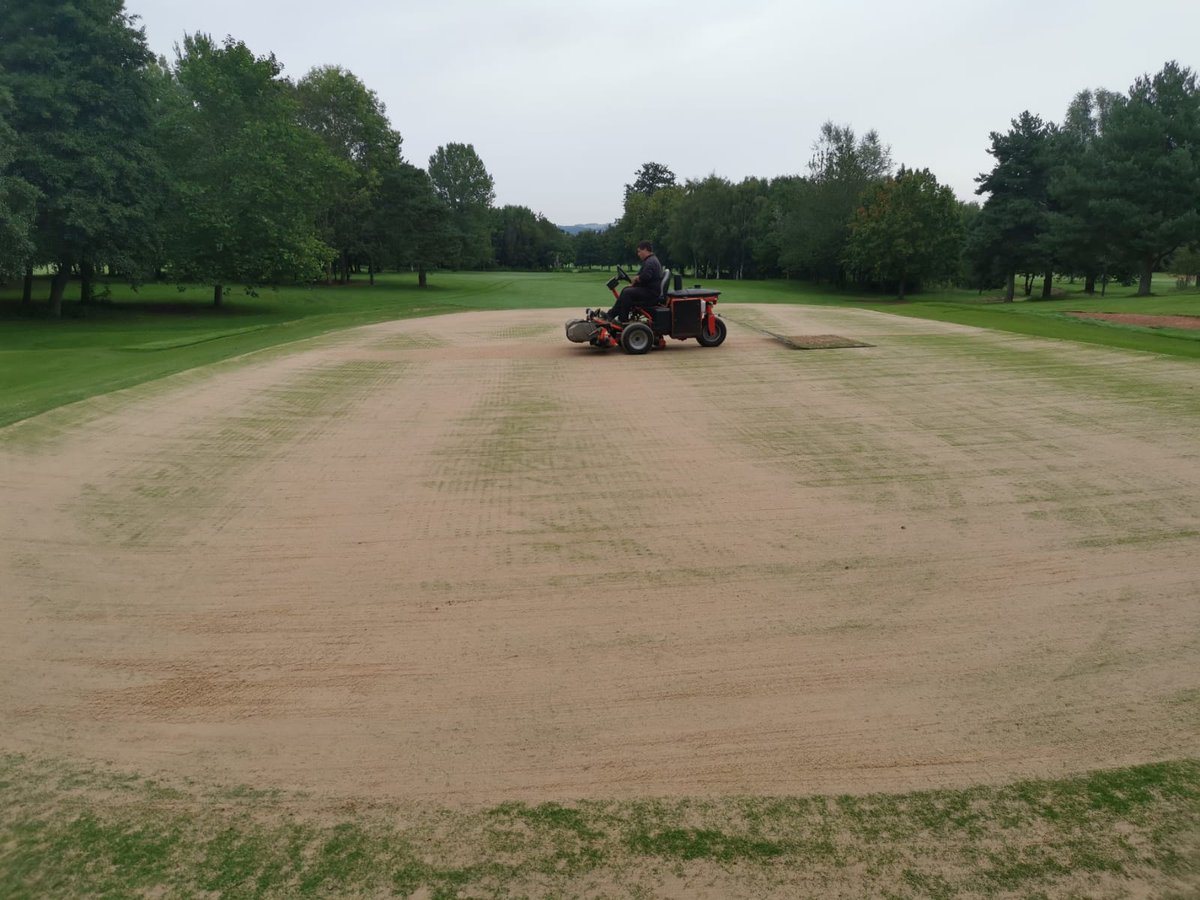 test Twitter Media - A great start to the week @IngestreParkGC hollow core of the greens starts today.  Only 3 greens each morning.  @andyb381 @CampeyTurfCare @AgrovistaAMNTY @MidlandsGolfer https://t.co/l75JbY4l8k