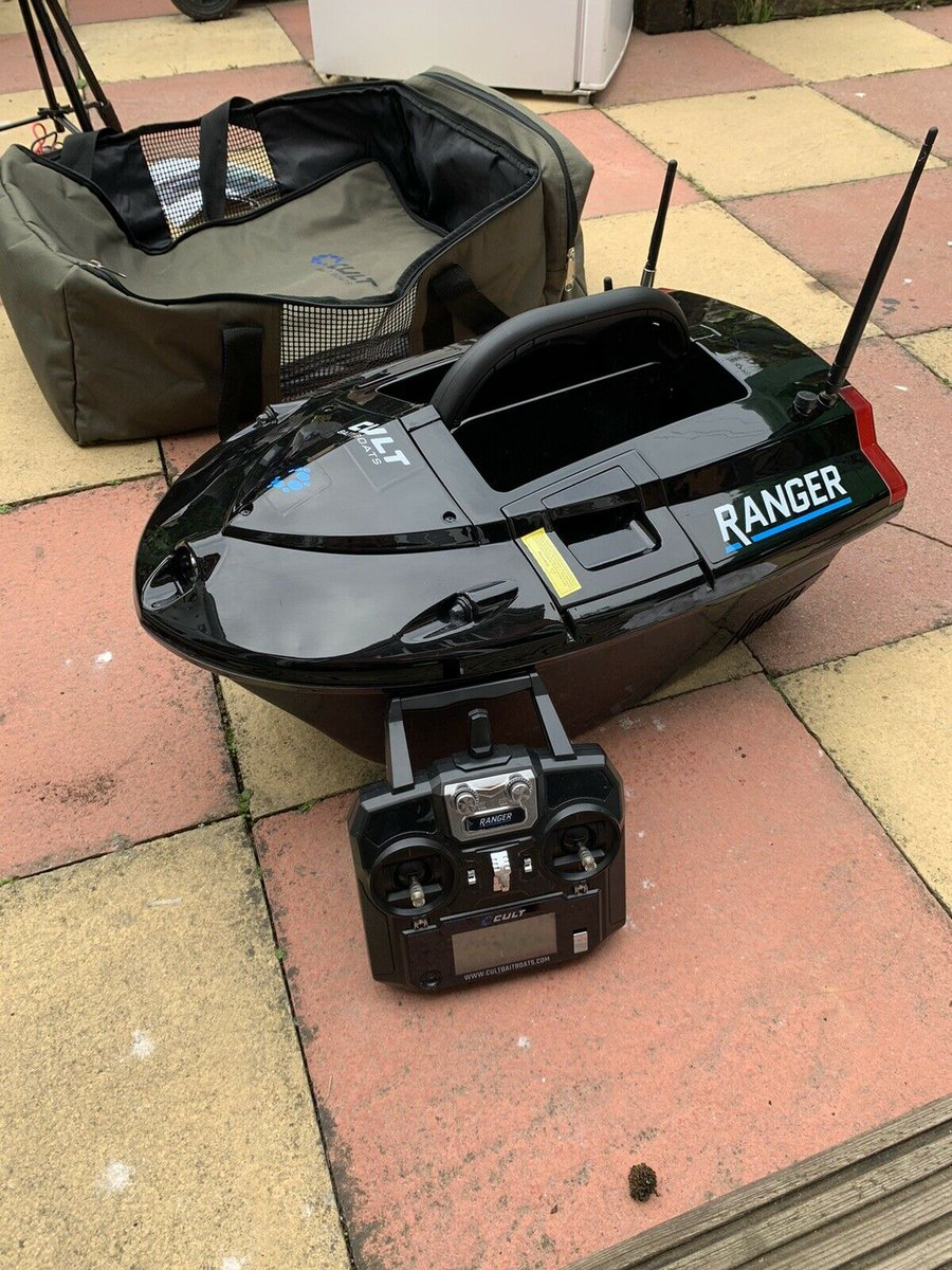 Ad - Cult Ranger Bait Boat with Fish Finder On eBay here -->> https://t.co/dkcmRS86yT  #carpfi