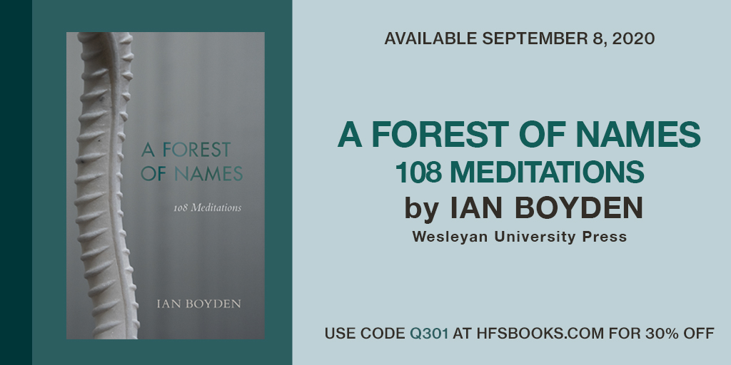 """test Twitter Media - Announcing """"A Forest of Names"""" """"I see this work as conceptual as can be. It is a beautiful and persistent effort of a poet's heart and mind working together, dealing with our tragic reality."""" —Ai Weiwei @aiww @degewa @jhalifax https://t.co/rnsv7RI5xF https://t.co/mBtPys2gJO"""