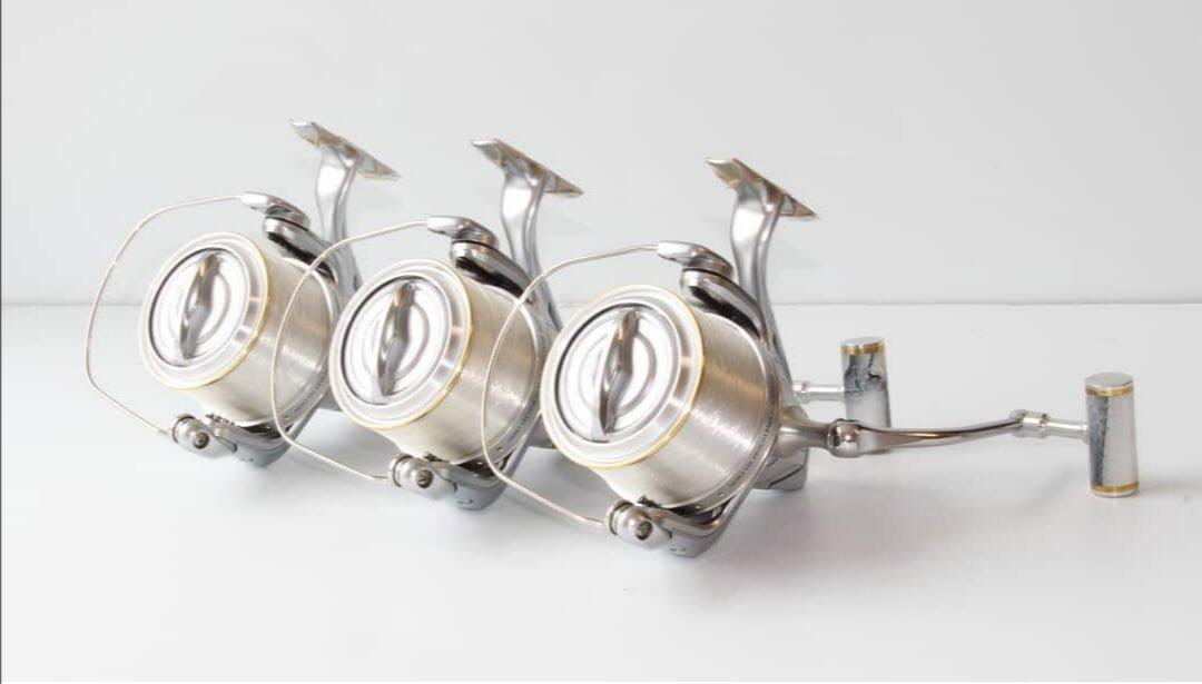 Beautiful set of Shimano's serviced  #shimano #fishing #carpfishing #Reels #reelservicing https://t.