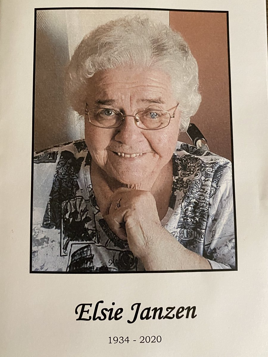 test Twitter Media - Honoured to attend a celebration of the life of Elsie Janzen who last week passed away from COVID19.For 45 years Elsie served on local Boards of federal and provincial Conservative Party Associations. Her work bettered our province and country and we are grateful for her service. https://t.co/92Q11Etklt